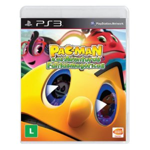 Jogo Pac-Man e as Aventuras Fantasmagoricas - PS3