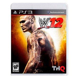 Jogo WWE '12 - PS3