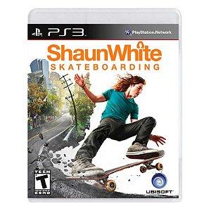 Jogo Shaun White Skateboarding - PS3