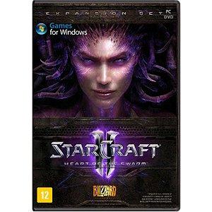 Jogo Star Craft ll: Heart of the Swarm (Pacote de Expansão) - PC
