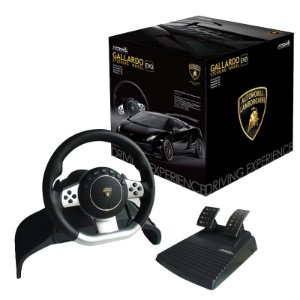 Volante Atomic Accessories Super Sport Steering Wheel Evo Automobili Lamborghini - PS3, PS2 e PC
