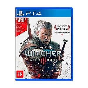 Jogo The Witcher 3: Wild Hunt (Conteúdo Extra) - PS4