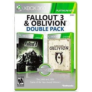 Jogo Fallout 3 & Oblivion Double Pack - Xbox 360