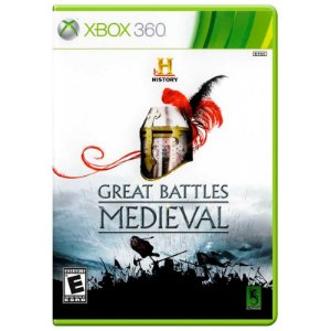 Jogo The History Channel Great Battles Medieval - Xbox 360