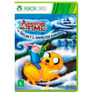 Jogo Adventure Time: O Segredo do Reino sem Nome - Xbox 360