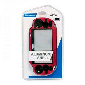 Capa Hyperkin Rosa de alumínio escovado - PS Vita