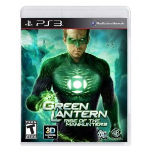 Jogo Green Lantern: Rise of the Manhunters - PS3