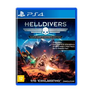 Jogo Helldivers: Super-earth (Ultimate Edition) - PS4