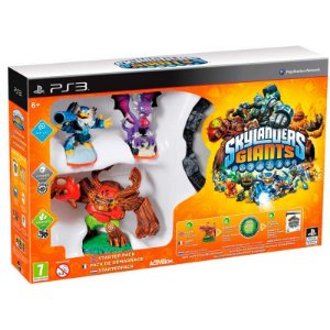 Kit Skylanders: Giants Starter Pack - PS3