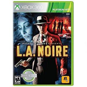 Jogo L.A. Noire - Xbox 360