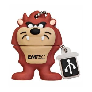 Mini Pen Drive Emtec Looney Tunes Taz 4GB