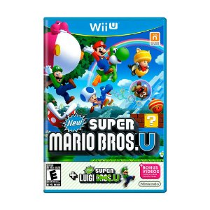Jogo New Super Mario Bros U + New Super Luigi U - Wii U