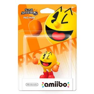 Nintendo Amiibo: Pac-Man - Super Smash Bros. - Wii U e New Nintendo 3DS