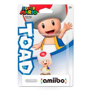 Nintendo Amiibo: Toad - Super Mario - Wii U e New Nintendo 3DS
