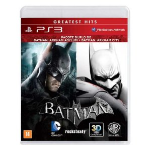 Jogo Batman: Arkham Asylum + Batman: Arkham City - PS3