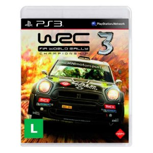 Jogo WRC 3: FIA World Rally Championship - PS3