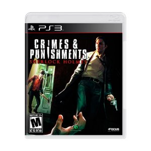 Jogo Sherlock Holmes: Crimes & Punishments - PS3