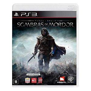 Jogo Terra Média: Sombras de Mordor - PS3