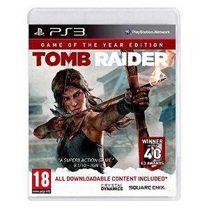 Jogo Tomb Raider (GOTY) - PS3