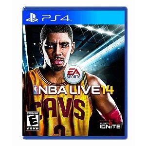 Jogo NBA LIVE 14 - PS4