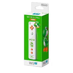 Controle Nintendo Wii Remote Plus: Yoshi - Wii U