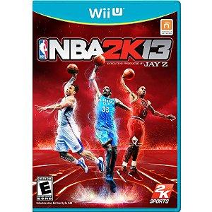 Jogo NBA 2K13 - Wii U