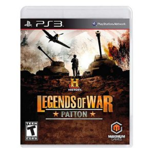 Jogo History Legends of War: Patton - PS3