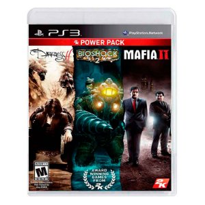 Jogo 2K Power Pack: The Darkness II + Bioshock 2 + Mafia II - PS3