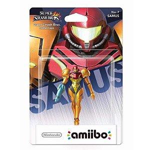Nintendo Amiibo: Samus Super - Smash Bros - Wii U e New Nintendo 3DS