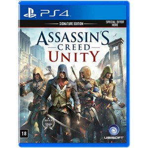 Jogo Assassin's Creed Unity (Signature Edition) - PS4