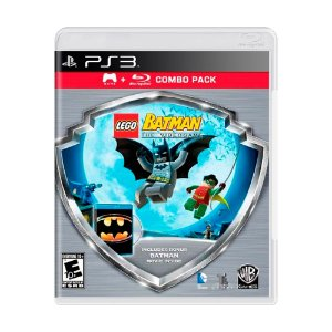 Jogo LEGO Batman The Videogame + Filme Batman Combo Pack - PS3