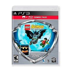 Jogo LEGO Batman The Videogame + Filme Batman Combo Pack - PS3