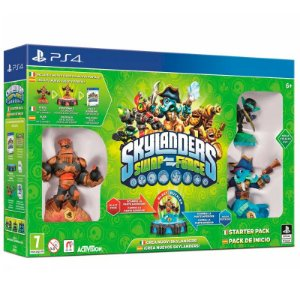 Jogo Skylanders Swap Force: Starter Pack - PS4
