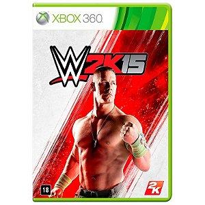 Jogo WWE 2K15 - Xbox 360