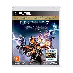 Jogo Destiny: The Taken King (Edição Lendária) - PS3