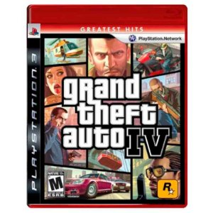 Jogo Grand Theft Auto IV (GTA 4 Americano) - PS3