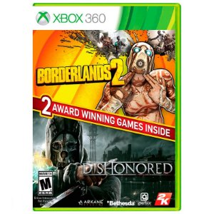 Jogo Borderlands 2 + Dishonored - Xbox 360