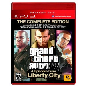 Jogo Grand Theft Auto IV - GTA 4 (The Complete Edition) - PS3