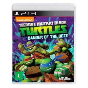 Jogo Teenage Mutant Ninja Turtles: Danger of the Ooze - PS3