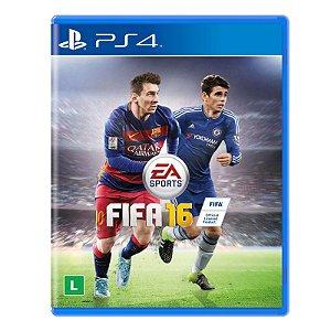 Jogo Fifa 2016 (FIFA 16) - PS4