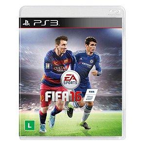 Jogo Fifa 2016 (FIFA 16) - PS3