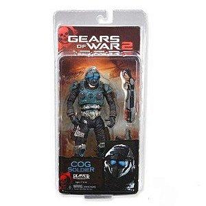 Boneco Cog Soldier Gears of War 2