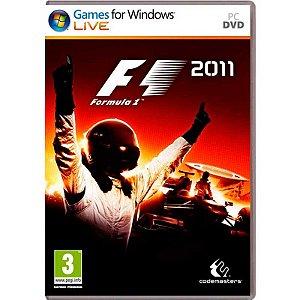 Jogo Fórmula 1 2011 - PC
