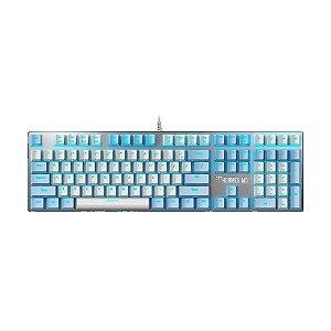 Teclado Mecânico Gamer Gamdias Hermes M5 Switch Blue Iluminado US com fio