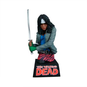 Action figure The Walking Dead Michonne Bust – Cofre para moedas