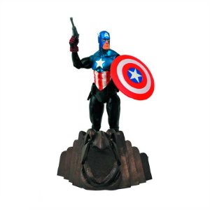 Action figure Captain America - Marvel Select