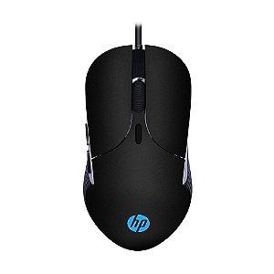 Mouse Gamer HP M280 2400 DPI RGB Chumbo com fio