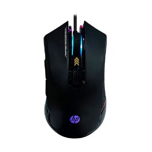 Mouse Gamer HP G360 6200 DPI RGB Preto com fio