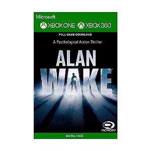 Jogo Alan Wake (Mídia Digital) - Xbox 360 e Xbox One