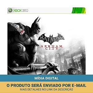 Jogo Batman: Arkham City (Mídia Digital) - Xbox 360